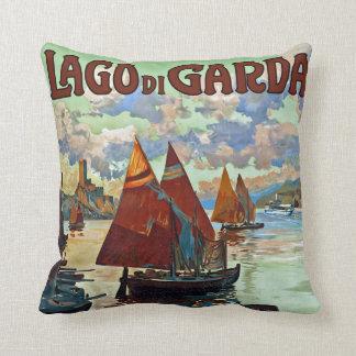 Lago di Garda Throw Pillow