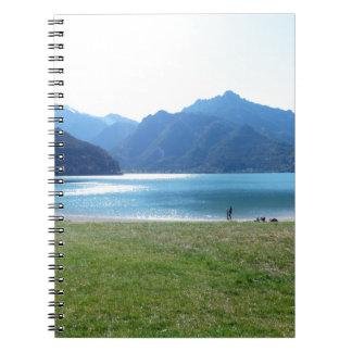 lago-di-ledro-lake-35 spiral notebook