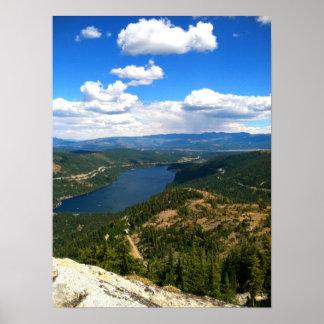 Lago Donner, California Póster