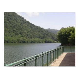 Lago  dos Bocas Postcard
