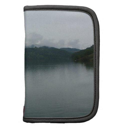 Lago dusk de Alaska del agua Organizador