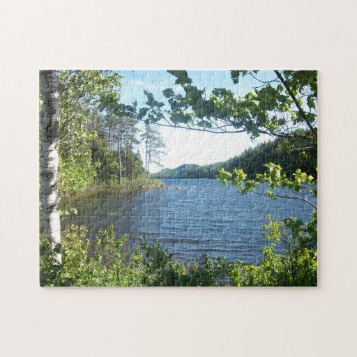 Lago eagle, Maine, los E.E.U.U. Puzzles Con Fotos