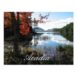 Lago eagle, parque nacional del Acadia, Maine Tarjeta Postal