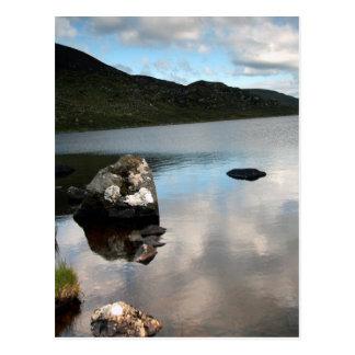 Lago Easky, tema de Sligo, Irlanda Tarjeta Postal