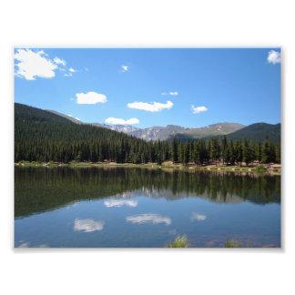 Lago echo, Mt. Evans, Colorado Impresiones Fotograficas