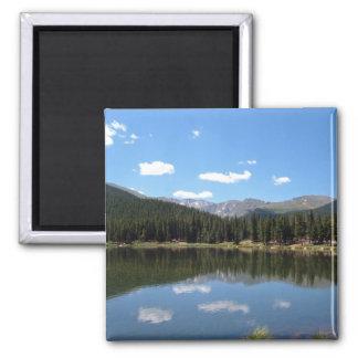 Lago echo, Mt. Evans, Colorado Imán De Nevera