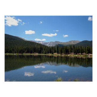 Lago echo, Mt. Evans, Colorado Impresiones
