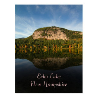 Lago echo, postal del NH