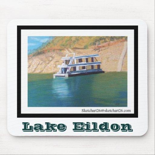 Lago Eildon Mousepads