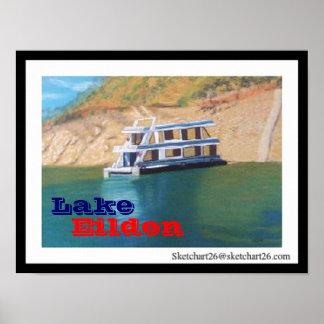 Lago, Eildon Poster