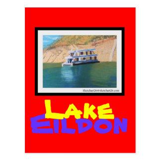 Lago Eildon Tarjeta Postal