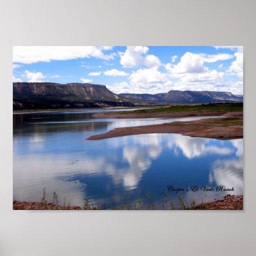Lago el Vado, New México Impresiones
