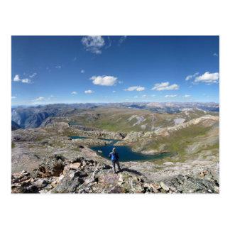 Lago eldorado - desierto de Weminuche - Colorado Postales