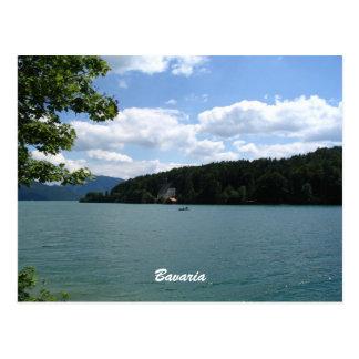 Lago en Baviera superior Postales