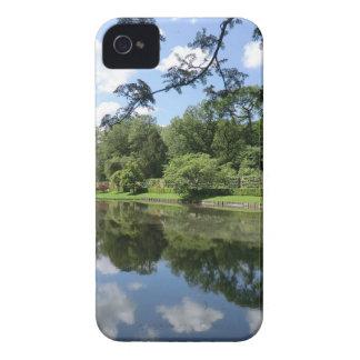 Lago en Erddig Pasillo cerca de Wrexham iPhone 4 Cárcasas