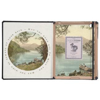Lago en Kerry Irlanda con la bendición irlandesa iPad Cárcasa