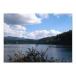 Lago en la ciudad invitación 12,7 x 17,8 cm