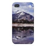 Lago en las montañas rocosas Colorado iPhone 4 Cárcasas