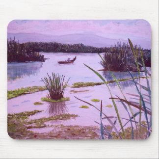 Lago en Verde Mouse Pad