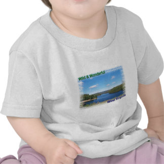 Lago escénico west Virginia Camiseta