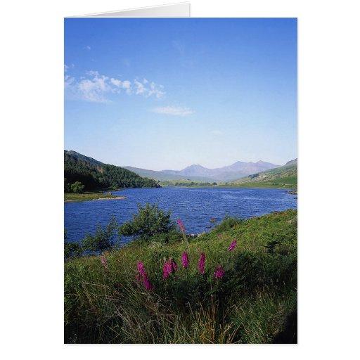 Lago escocés felicitación