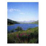 Lago escocés postales