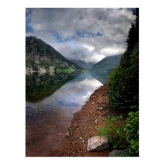 Lago esmeralda 1 - desierto de Weminuche - Postal