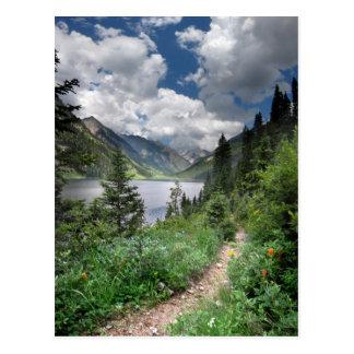 Lago esmeralda 3 - desierto de Weminuche - Postal
