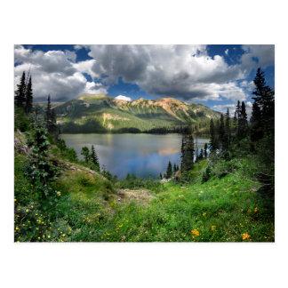 Lago esmeralda 4 - desierto de Weminuche - Tarjeta Postal