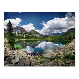 Lago esmeralda - desierto de Weminuche - Colorado Postal