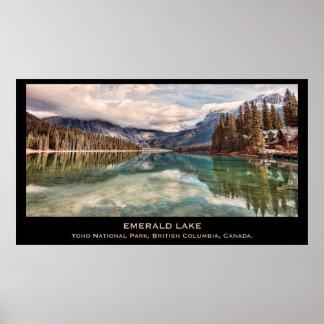 Lago esmeralda póster