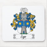 Lago Family Crest Mouse Mats