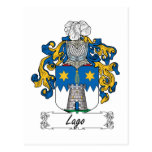 Lago Family Crest Post Cards