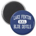 Lago Fenton - diablos azules - alto - tilo Michiga Imán De Frigorifico