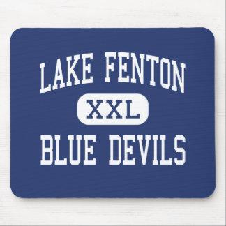 Lago Fenton - diablos azules - alto - tilo Michiga Tapete De Raton