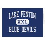 Lago Fenton - diablos azules - alto - tilo Michiga Tarjetas