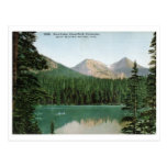 Lago fern, parque de Estes, vintage de Colorado Tarjeta Postal