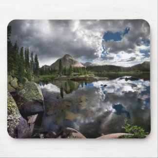 Lago flint - desierto de Weminuche - Colora Alfombrillas De Ratones