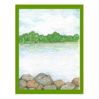 Lago forest tarjetas postales