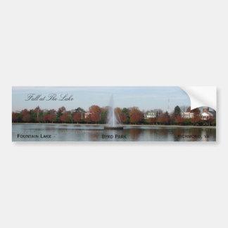 Lago fountain pegatina para auto