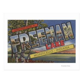 Lago Freeman - escenas grandes de la letra Tarjeta Postal