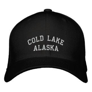 Lago frío, Alaska Gorras Bordadas