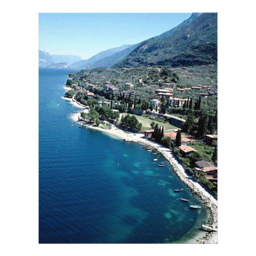 Lago Garda, Italia Tarjetas Informativas