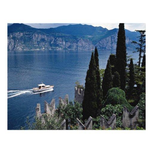 Lago Garda, Italia Tarjeta Publicitaria