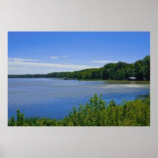 Lago Gastón, poster de Virginia