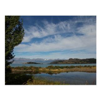 Lago General Carrera, Puyuhuapi, Patagonia, Chile Postcard