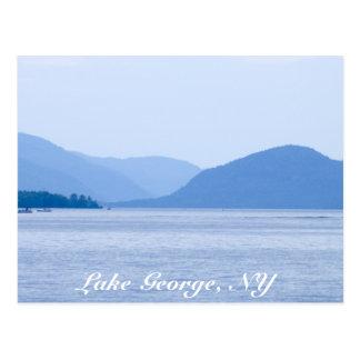 Lago George, postal de la N.Y. - modificada para r