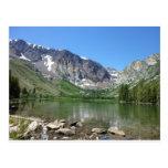 Lago gigantesco postal