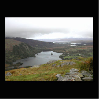 Lago Glanmore del paso Irlanda de Healy Escultura Fotográfica