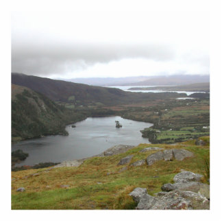 Lago Glanmore del paso Irlanda de Healy Escultura Fotografica